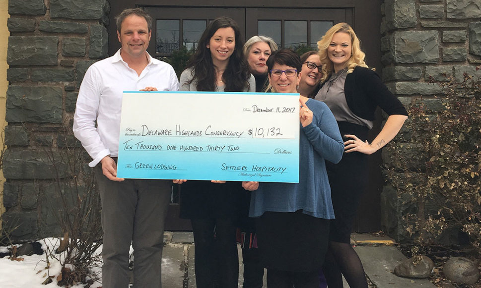 Settlers  Hospitality Guests Raise $10,000 for Conservation