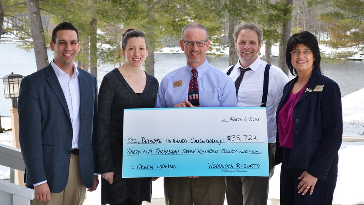 Woodloch Resort Guests Raise Funds for Conservation