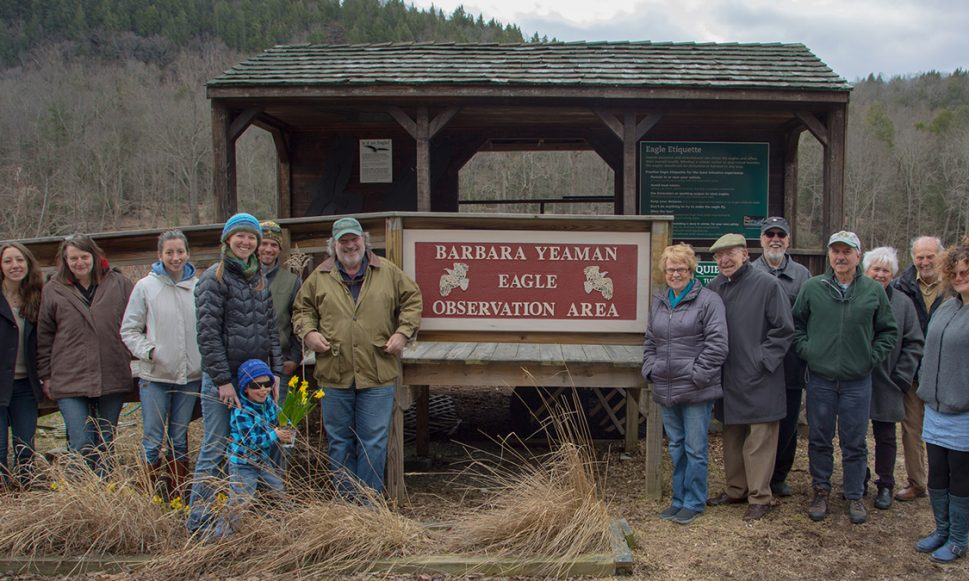 Eagle Observation Area Renamed in Honor of Conservancy's Founder