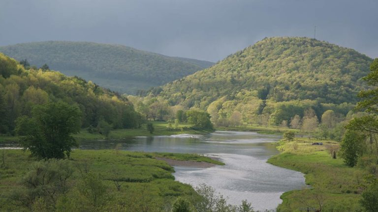Scenic Delaware River image.