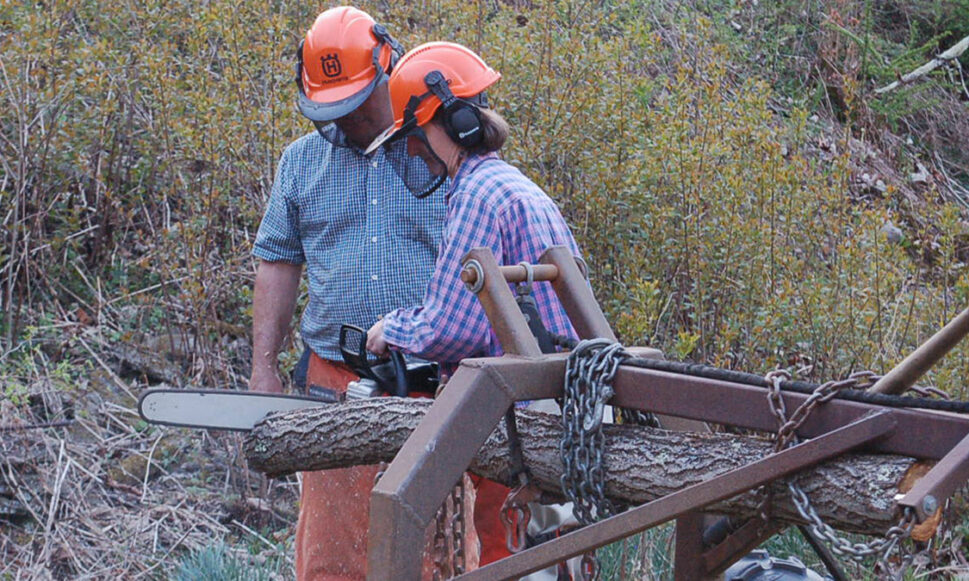 Women and Their Woods Chainsaw Safety Class