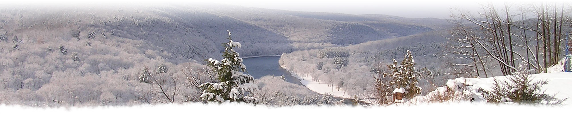 Winter Delaware River