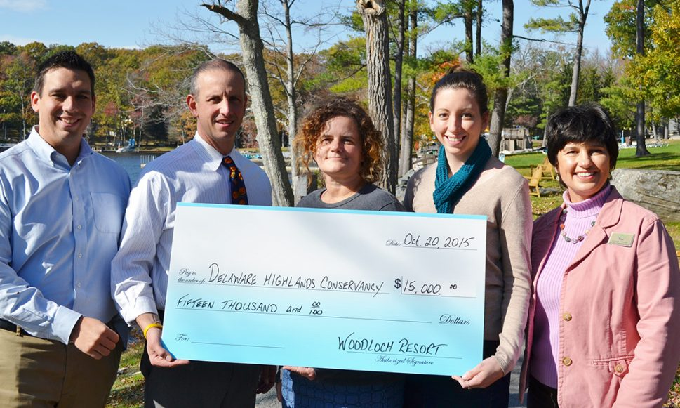 Woodloch Resort Raises $15,000 For Conservation